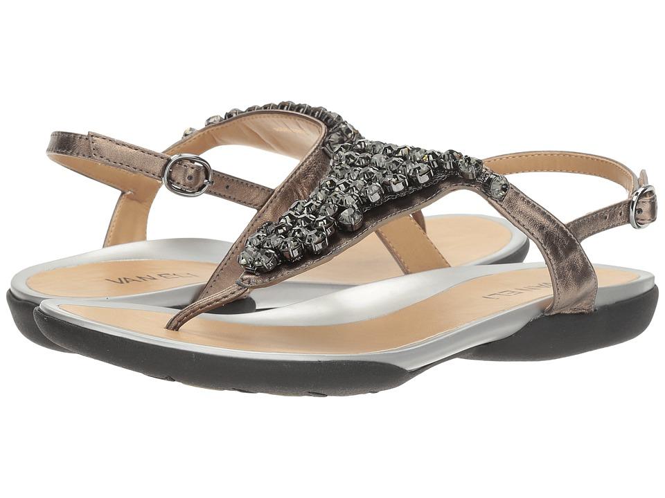 Vaneli - Wendy (Pewter Metallic Nappa) Women's Shoes