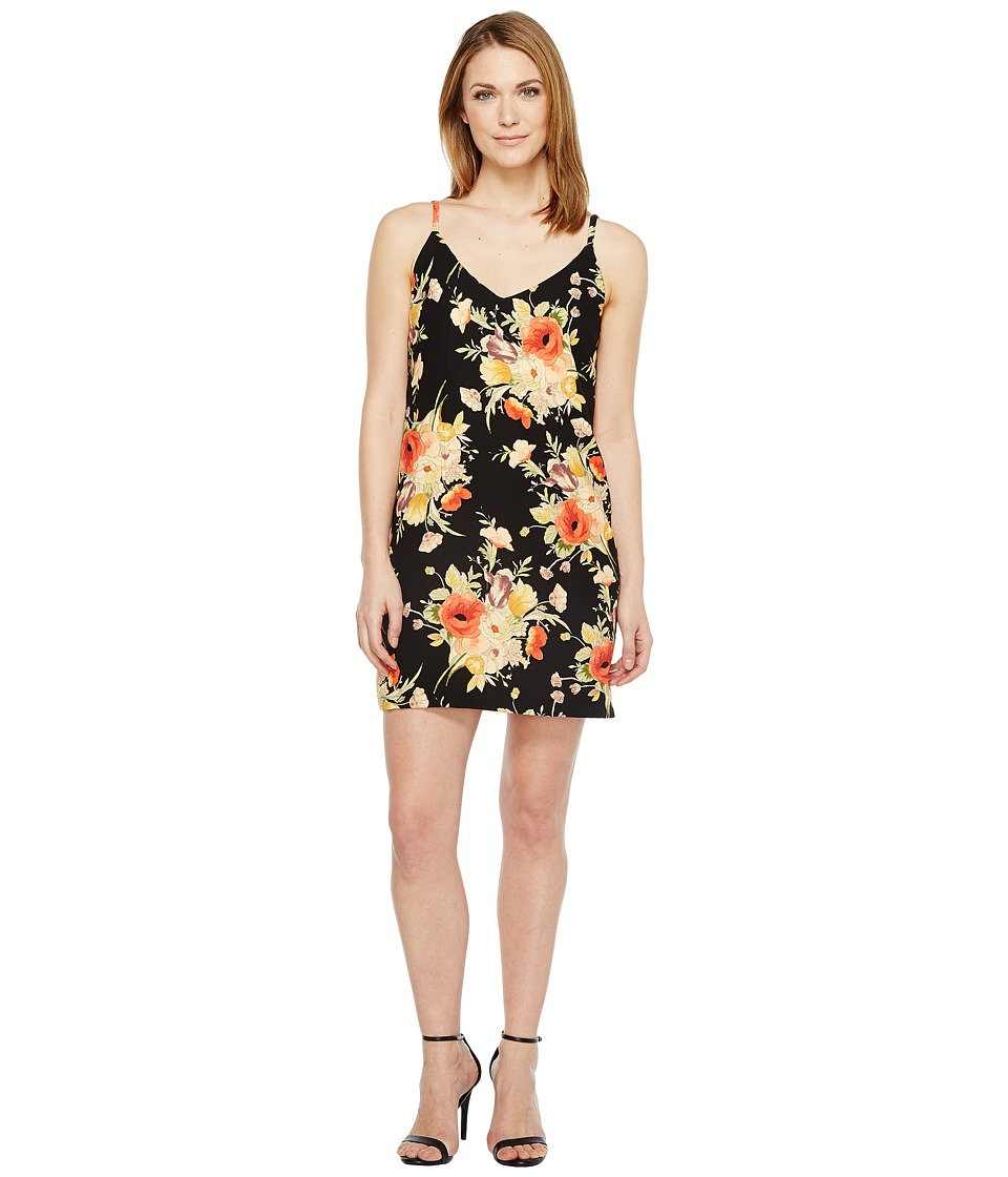 Sanctuary - Mini Slip Dress (Dark Lily Pond) Women's Dress