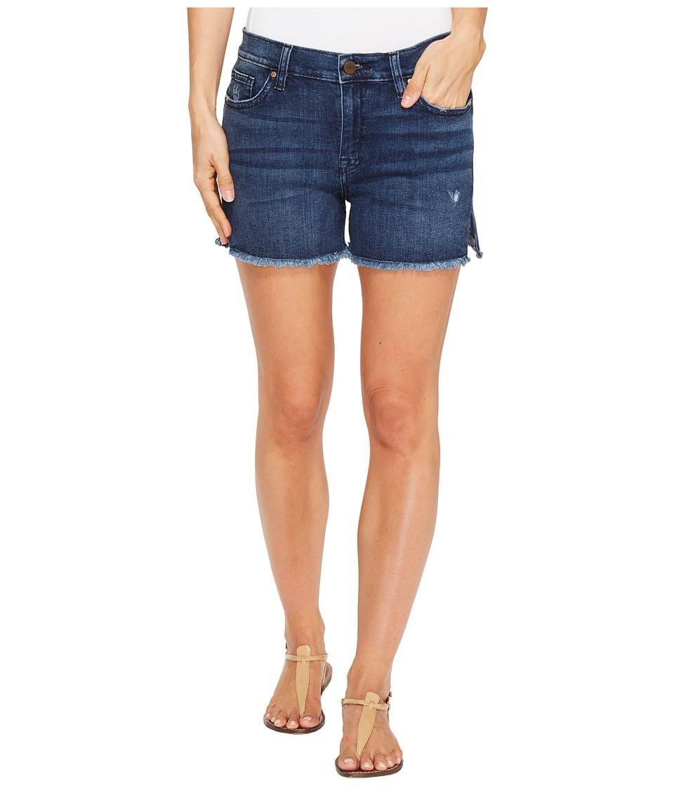 Sanctuary - Midi Frey Shorts (Kalia Wash) Women's Shorts