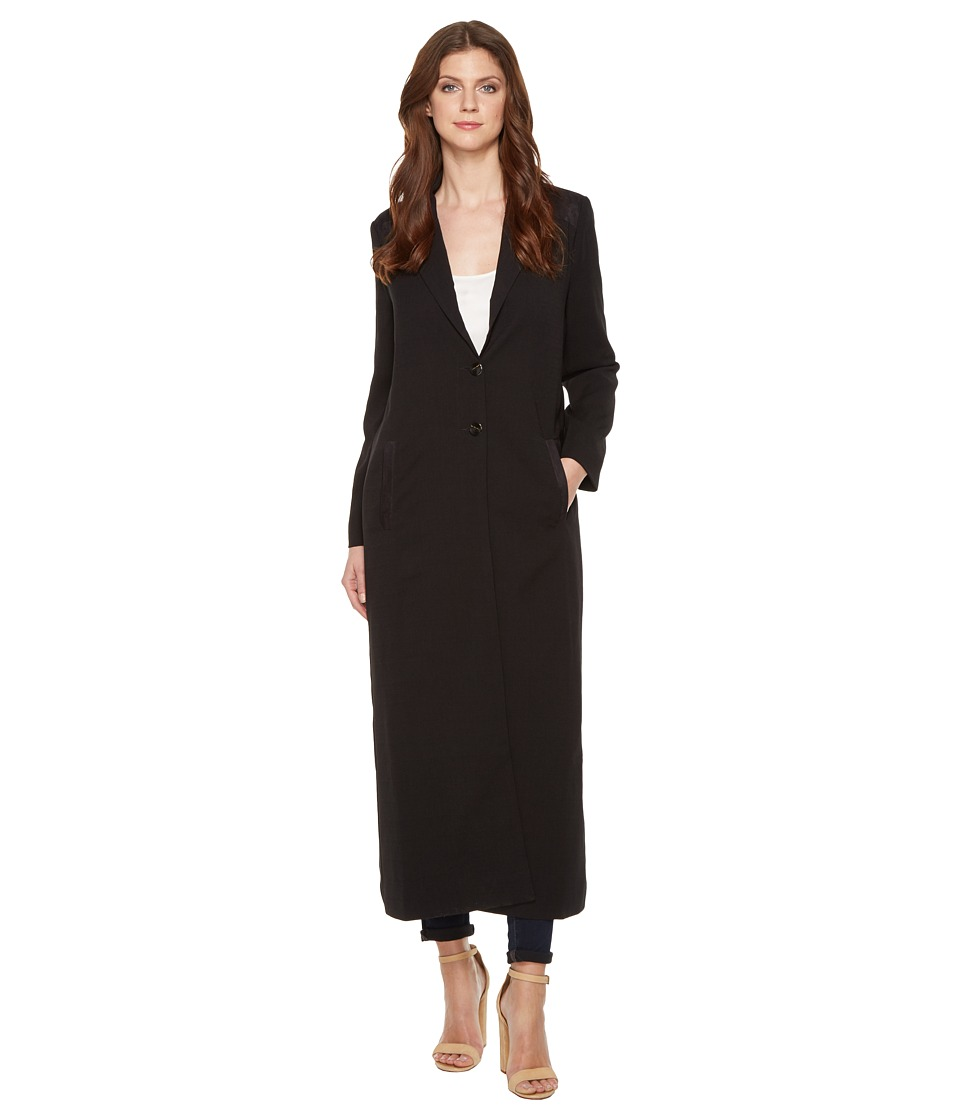 Religion - Happiness Duster Coat (Jet Black) Women's Coat