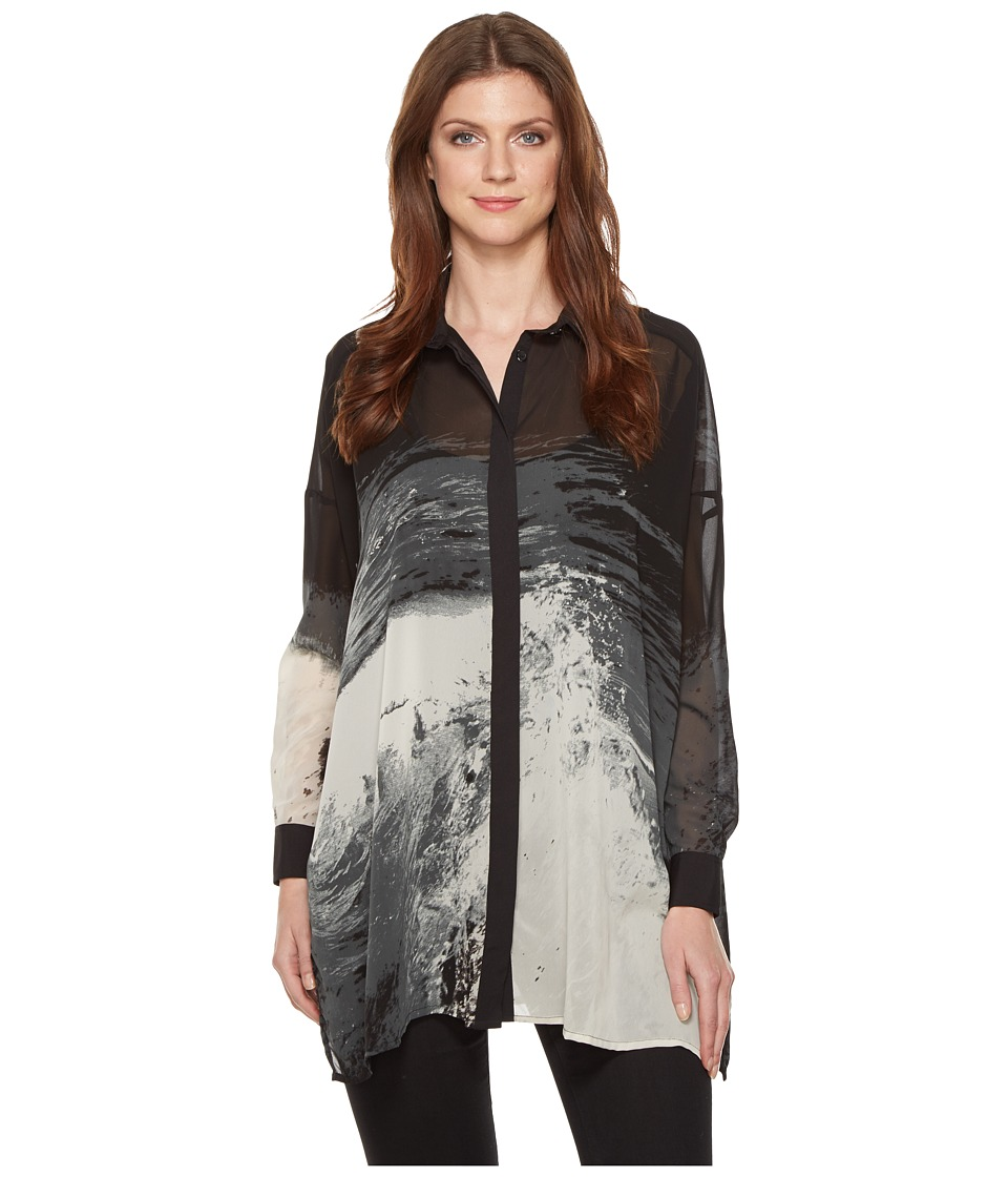 Religion - Amore Shirt (Black/White) Women's Clothing