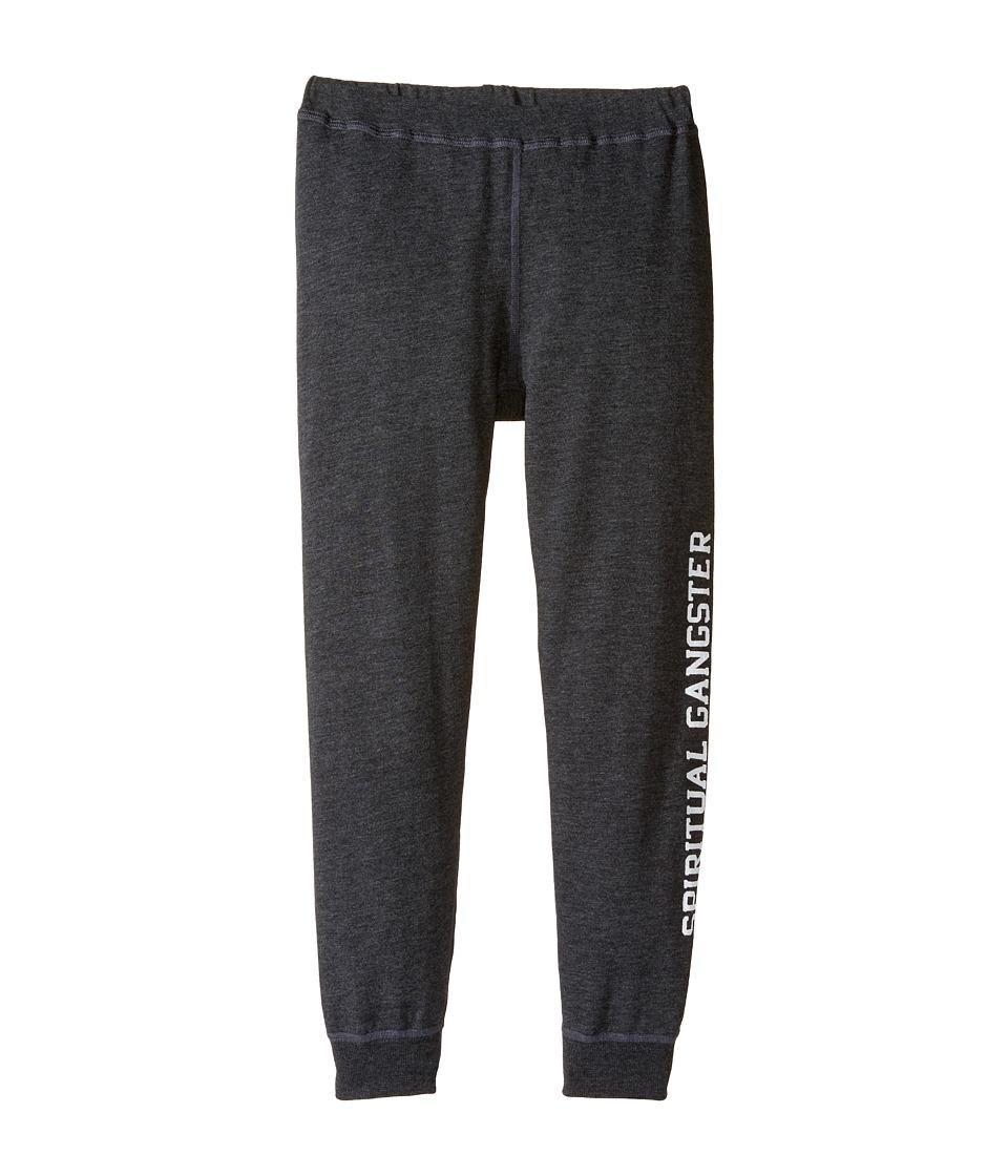 Spiritual Gangster Kids - SG Varsity Dharma Pants (Big Kids) (Vintage Black) Girl's Casual Pants