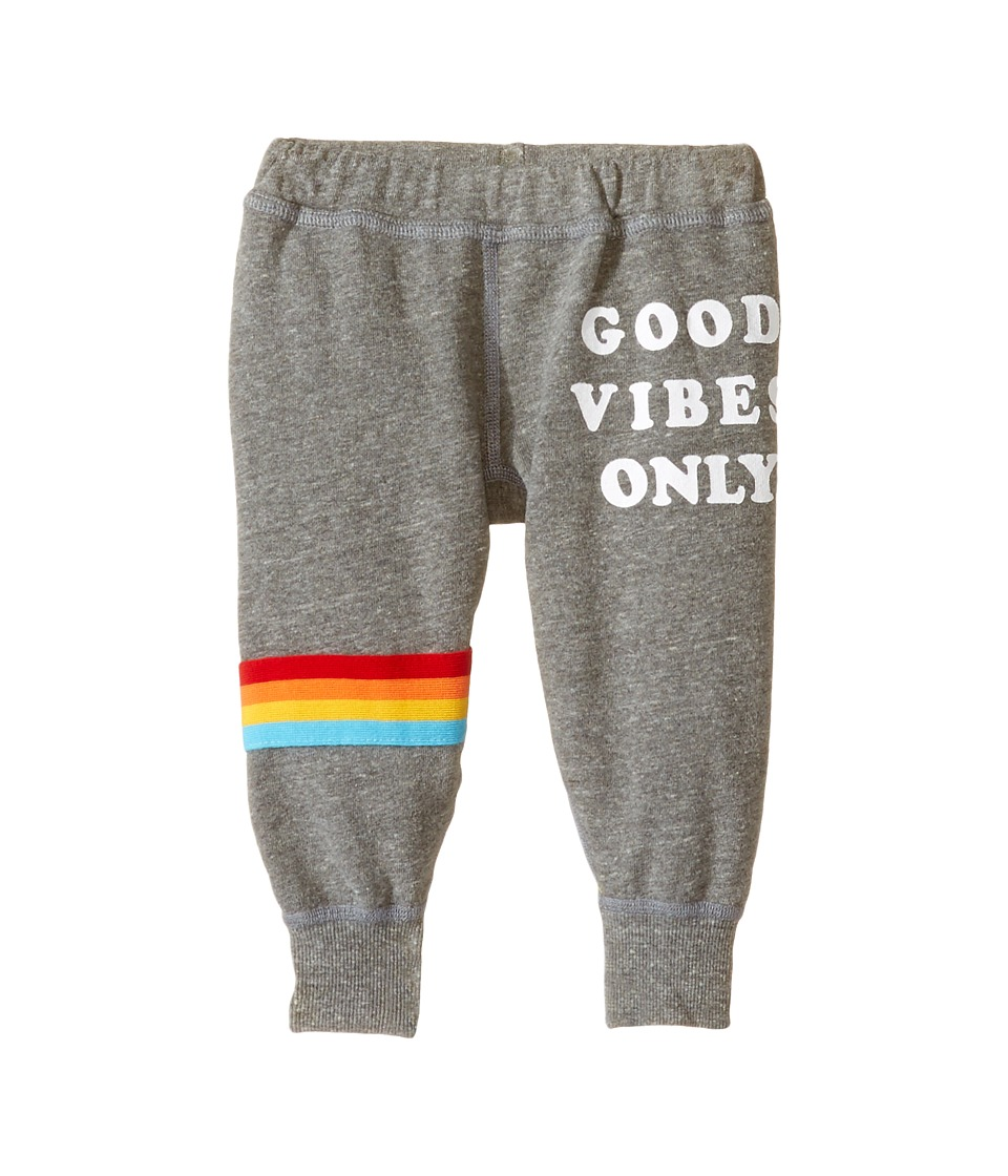 Spiritual Gangster Kids - Good Vibes Only Dharma Pants (Toddler/Little Kids/Big Kids) (Heather Grey) Girl's Casual Pants