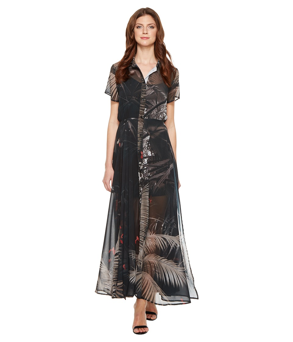 Religion - Transit Sheer Maxi Dress (Dusty Olive/Red Clay) Women's Dress
