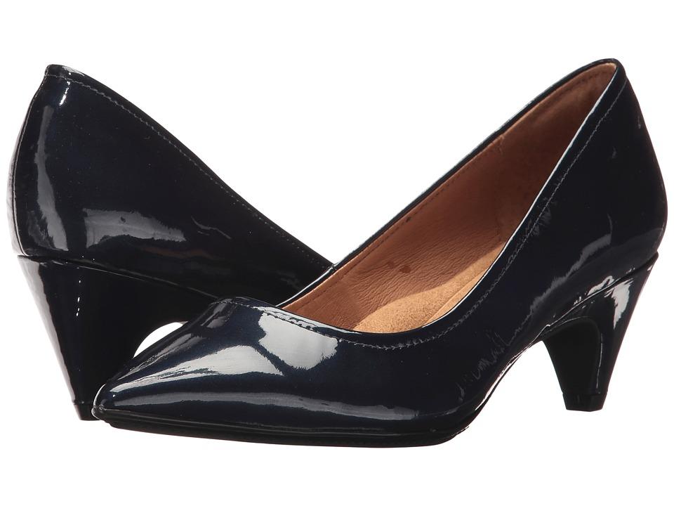 Sofft Altessa II (Marine Blue Eva Metallic Patent) High Heels
