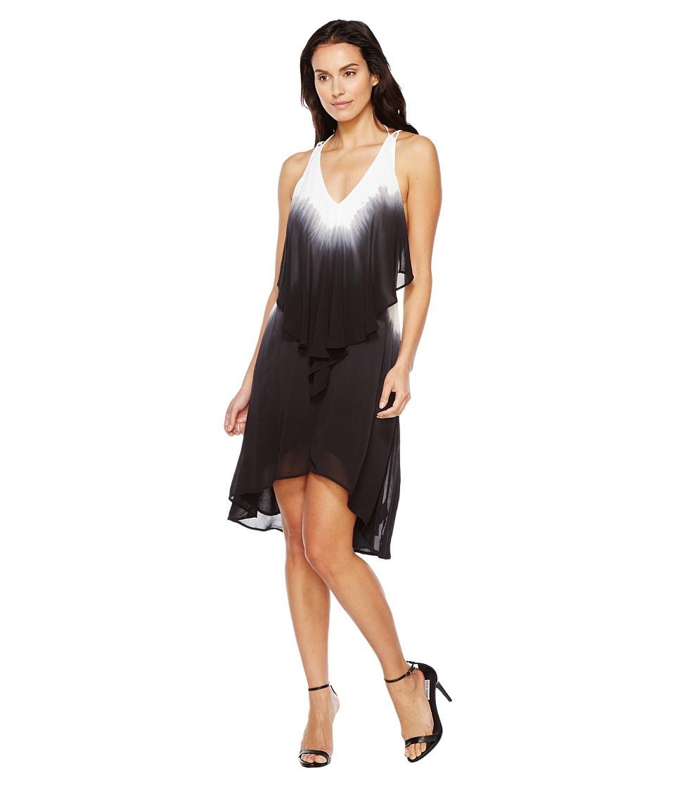 Religion - Ecstasy Dress (White/Black Ink) Women's Dress