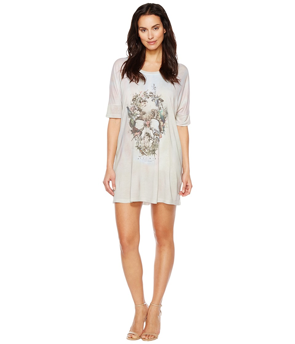 Religion - Stand Out Dress (Skull Illusion Print) Women's Dress