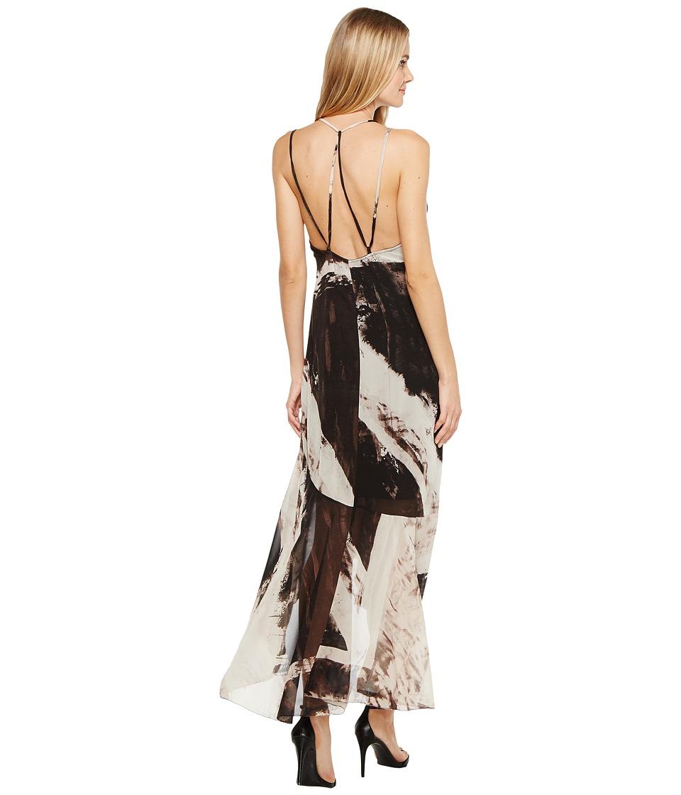 Religion - Legacy Maxi Dress (White/Jet Black) Women's Dress