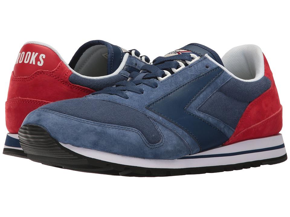 Brooks Heritage - Chariot (Estate Blue/High Risk Red) Men's Shoes