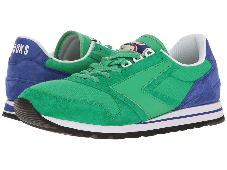 Brooks Heritage Chariot (Kelly Green/Royal Blue) Men