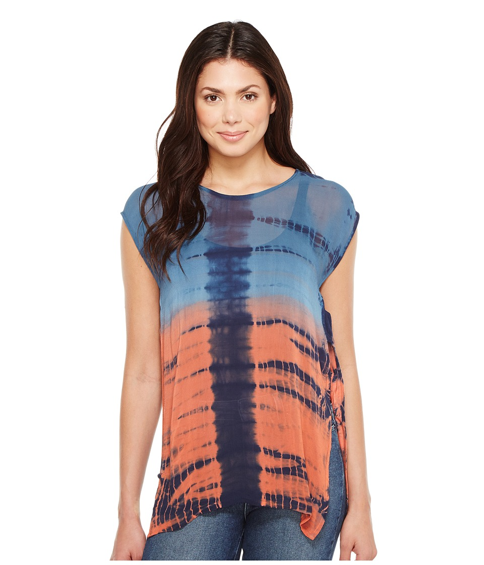 Religion - Purpose Top (Indian Teal/Spiced Coral) Women's Clothing