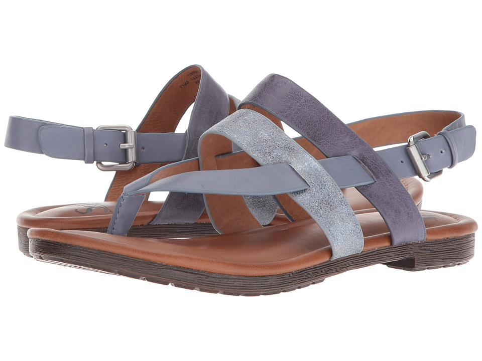 Sofft Bena (Denim/Blue/Pale Blue Oyster/Calgary/Cow Quilin) Women
