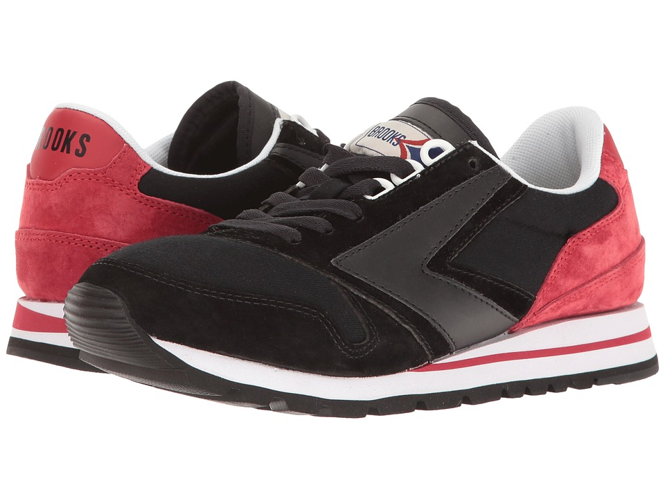 Brooks Heritage Chariot (Chili Pepper/Black) Women