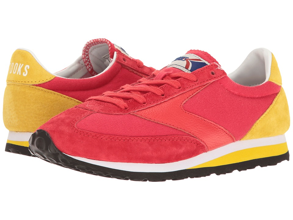 Brooks Heritage - Vanguard (True Red/Vibrant Yellow) Women's Shoes