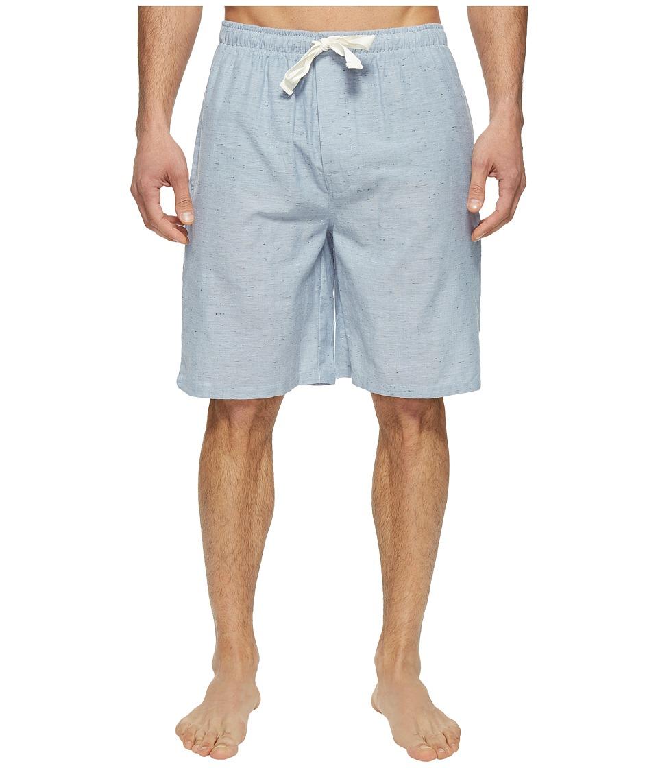 Jockey - Solid Chambray Sleep Jam (Blue) Men's Pajama
