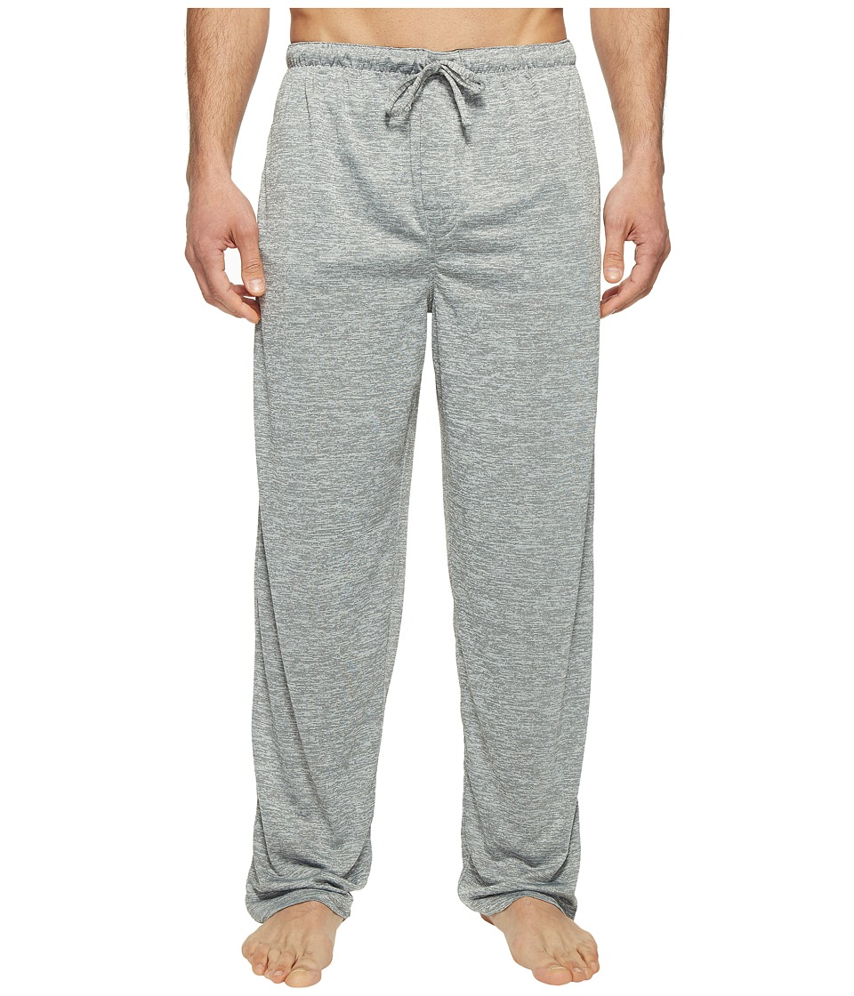 Jockey - Poly End-on-End Sleep Pants (Heather Grey) Men's Pajama