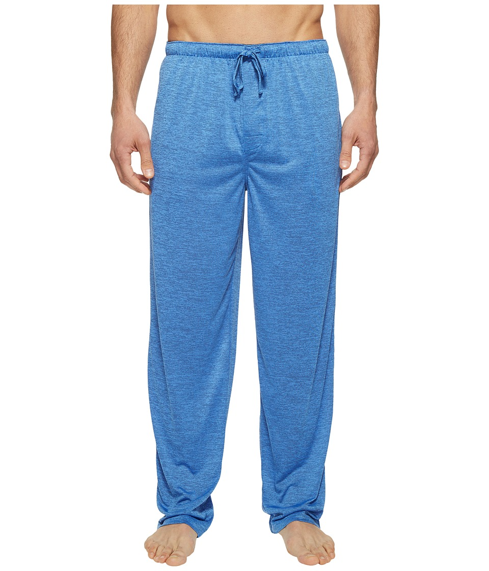 Jockey - Poly End-on-End Sleep Pants (Blue) Men's Pajama