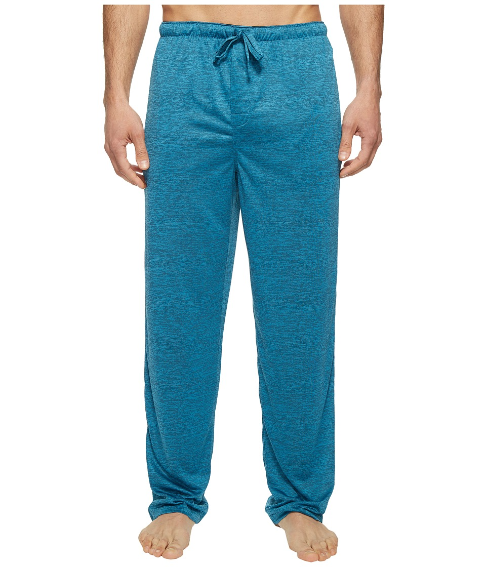 Jockey - Poly End-on-End Sleep Pants (Teal) Men's Pajama