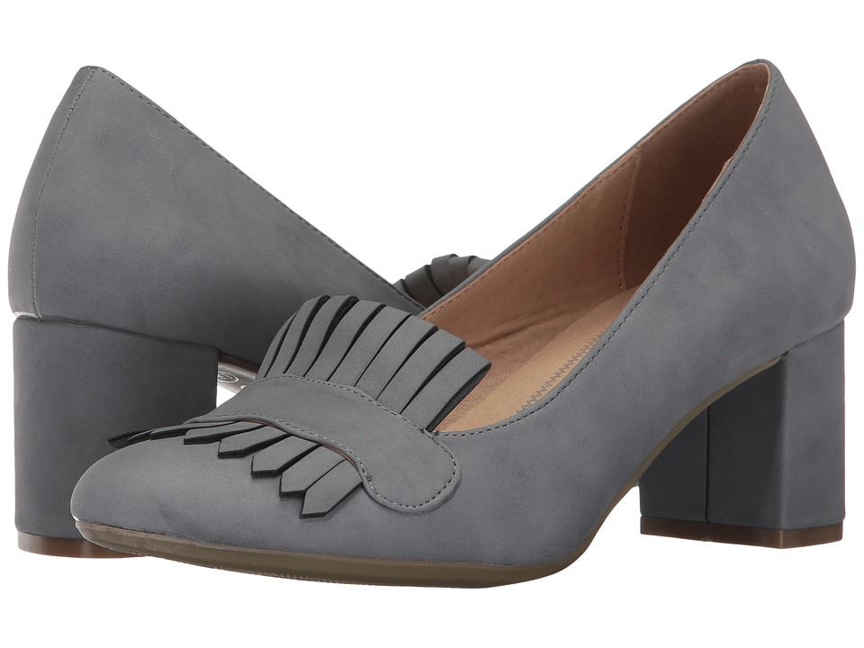 CL By Laundry - Anete (Gravel Grey Nubuck) Women's Shoes