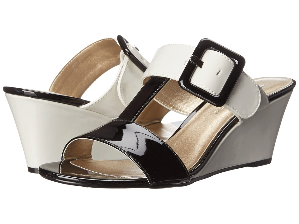 CL By Laundry Talli (Black/White Patent) Women