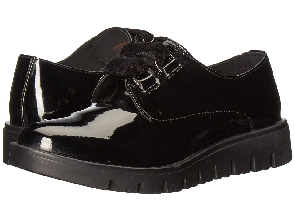 Pazitos - Velvet Ties (Little Kid/Big Kid) (Black) Girls Shoes