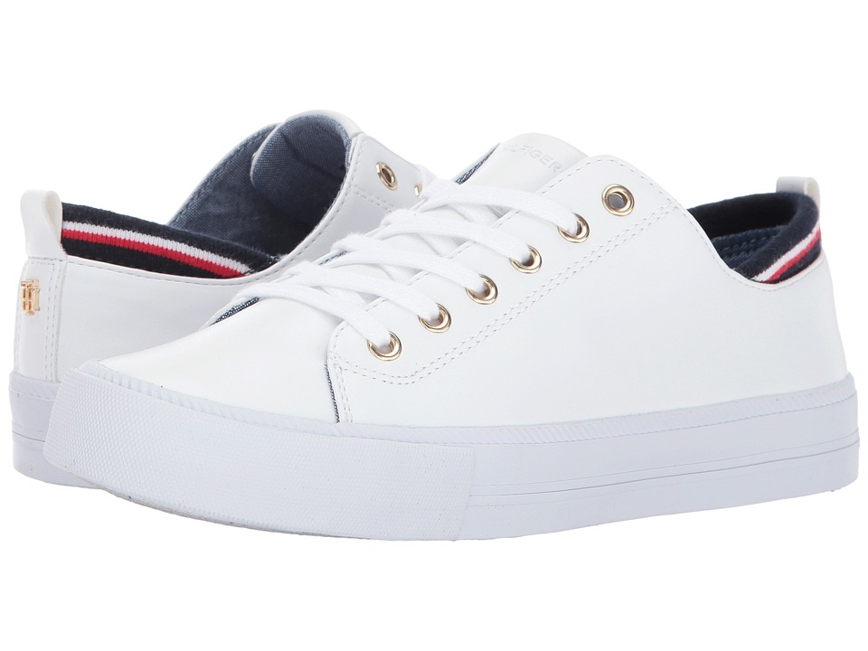 Tommy Hilfiger - Two (White PU) Women's Shoes