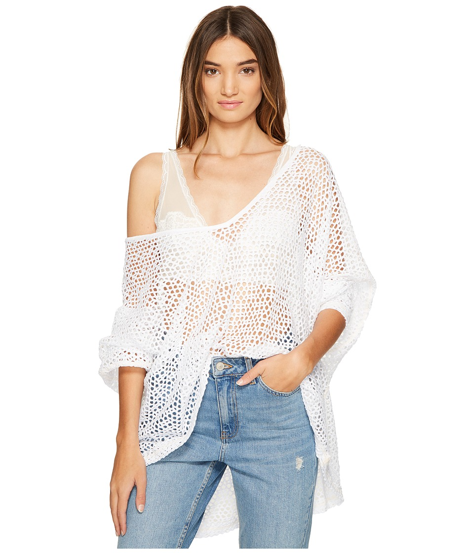 Free People - Napa T-Shirt (White) Women's T Shirt