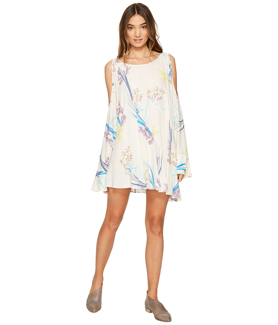 Free People - Clear Skies Printed Tunic (Neutral) Women's Clothing