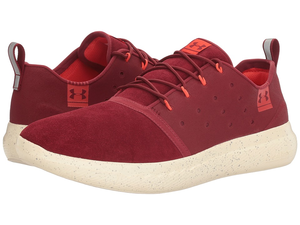 Under Armour - UA Charged 24/7 Low Suede (Cardinal/Stone) Men's Shoes