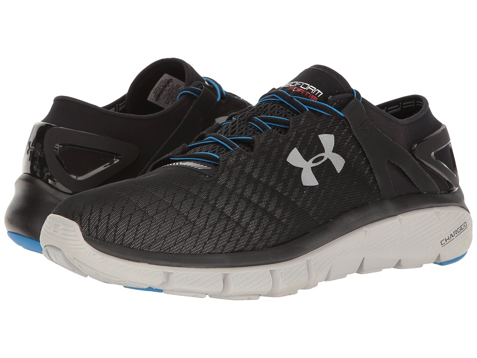Under Armour - UA Speedform Fortis Night (Black/Aluminum) Men's Shoes