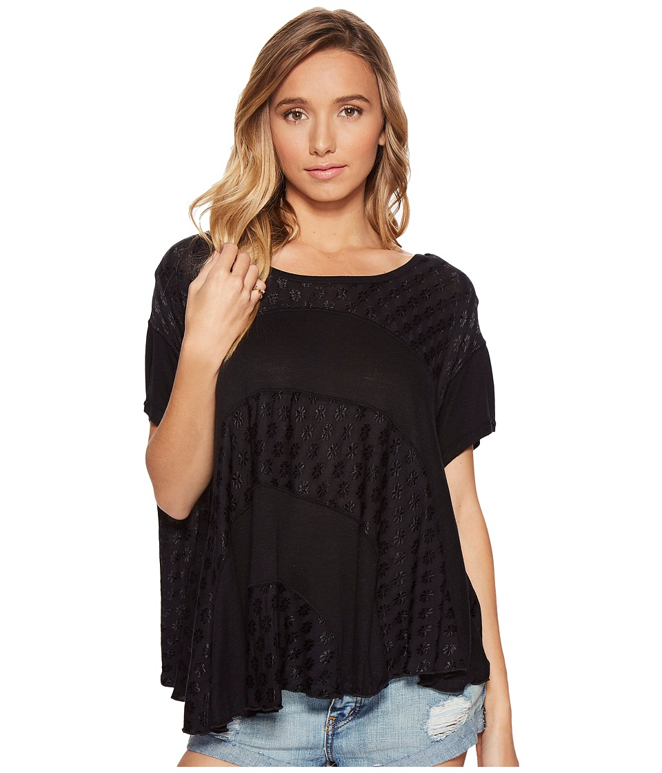 Free People - Anything and Everything Top (Black) Women's Clothing