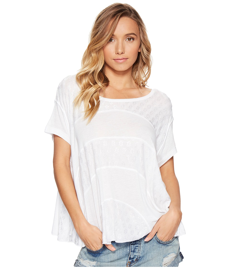 Free People - Anything and Everything Top (White) Women's Clothing
