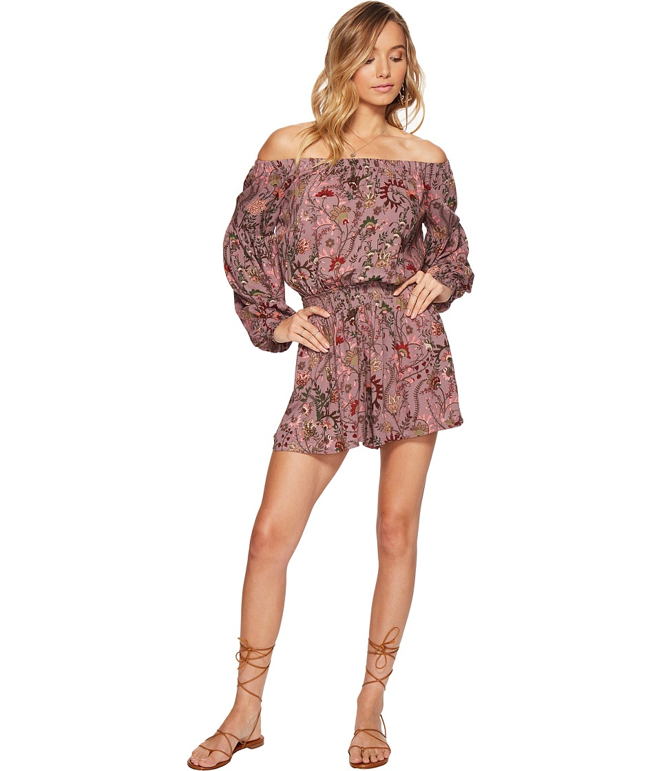 Free People - Pretty and Free One-Piece (Mauve) Women's Jumpsuit & Rompers One Piece