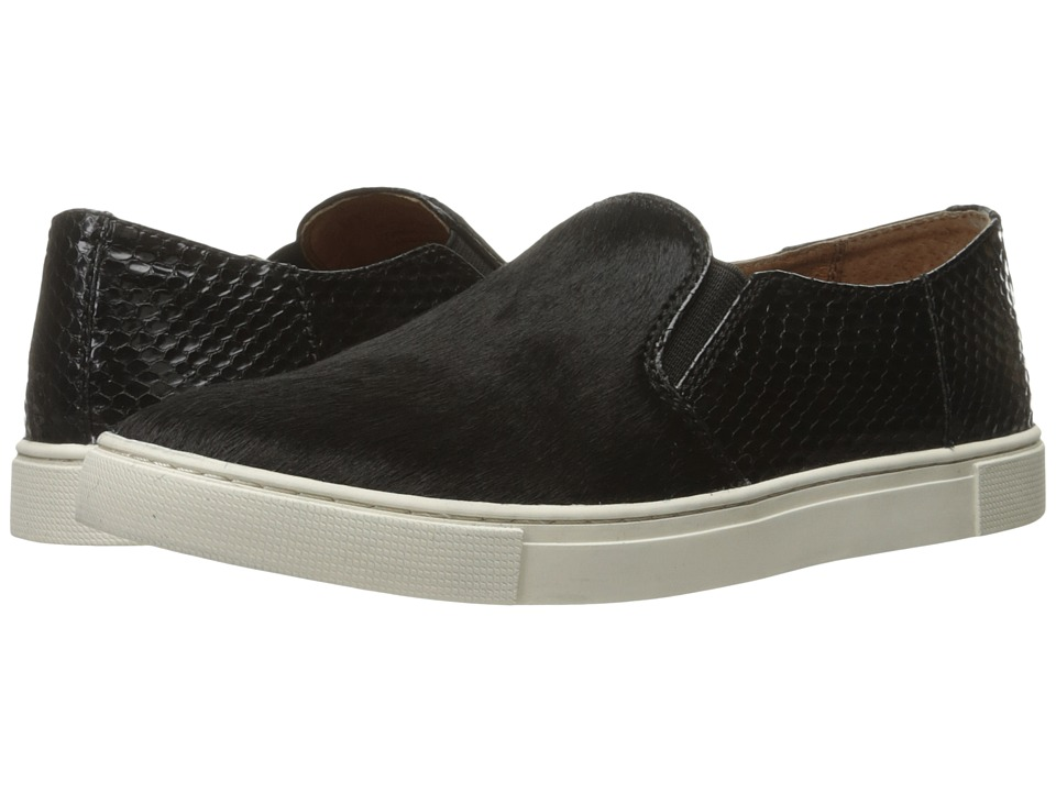 Frye - Gemma Block Slip (Black) Women's Slip on Shoes