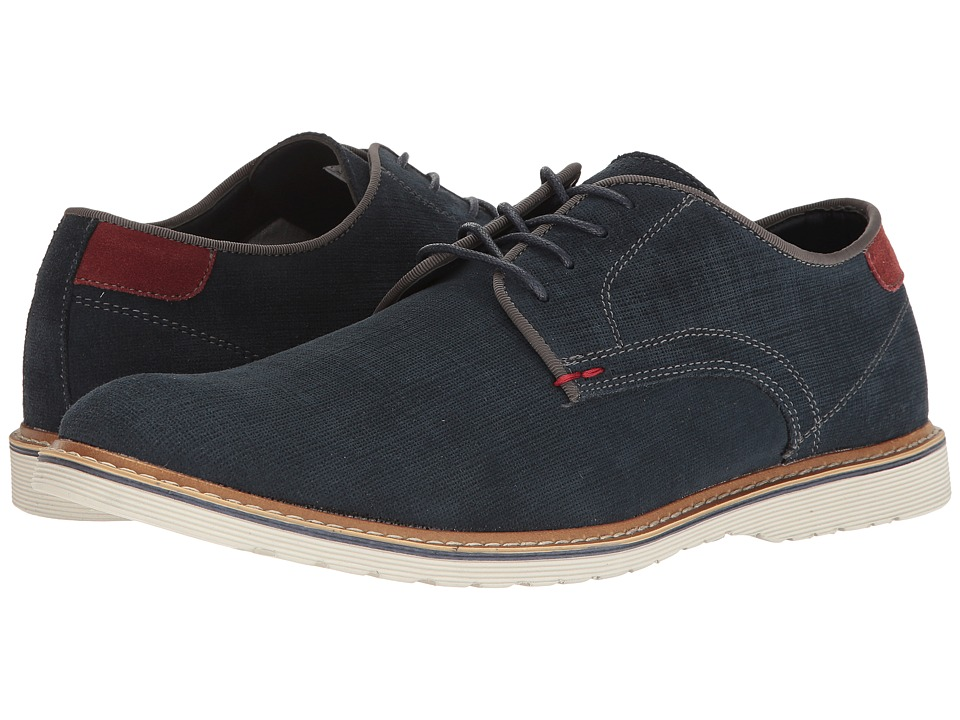 Steve Madden - Easel (Navy) Men's Lace up casual Shoes
