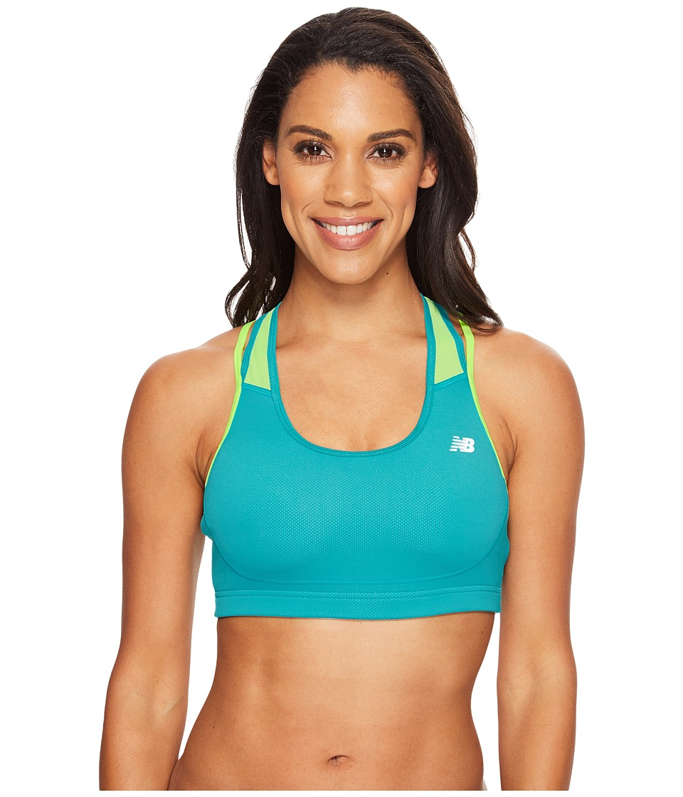 New Balance - The Tonic Crop Bra (Galapagos Multi) Women's Bra