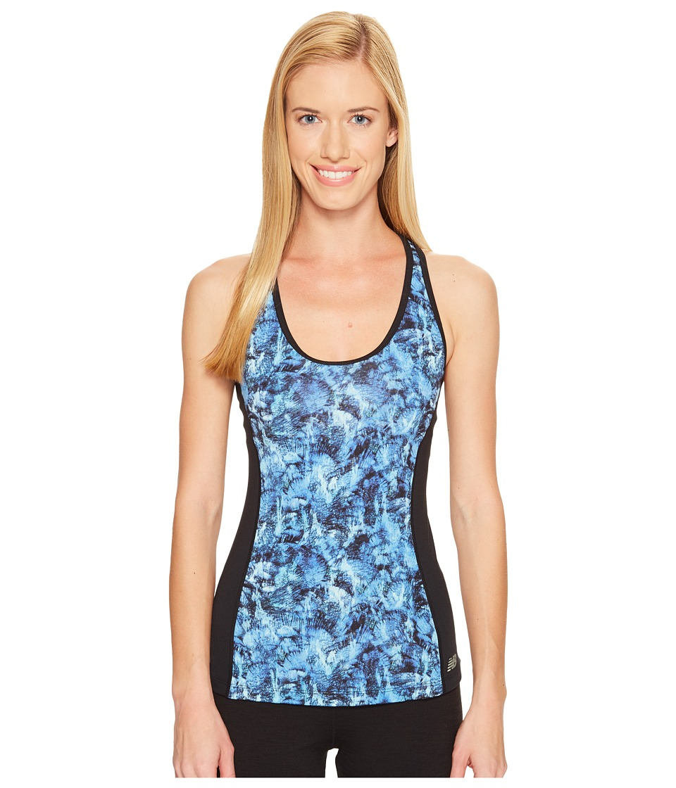 New Balance - Racerback Bra Top (Majestic Feather Camo) Women's Bra