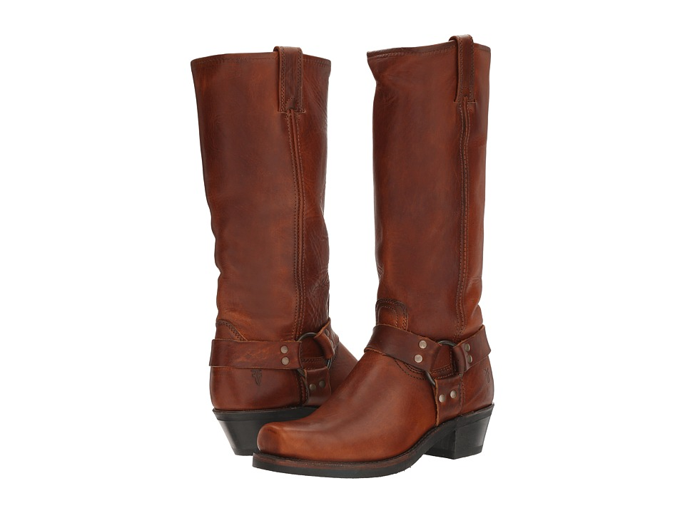 Frye - Harness 15R (Cognac) Women's Pull-on Boots