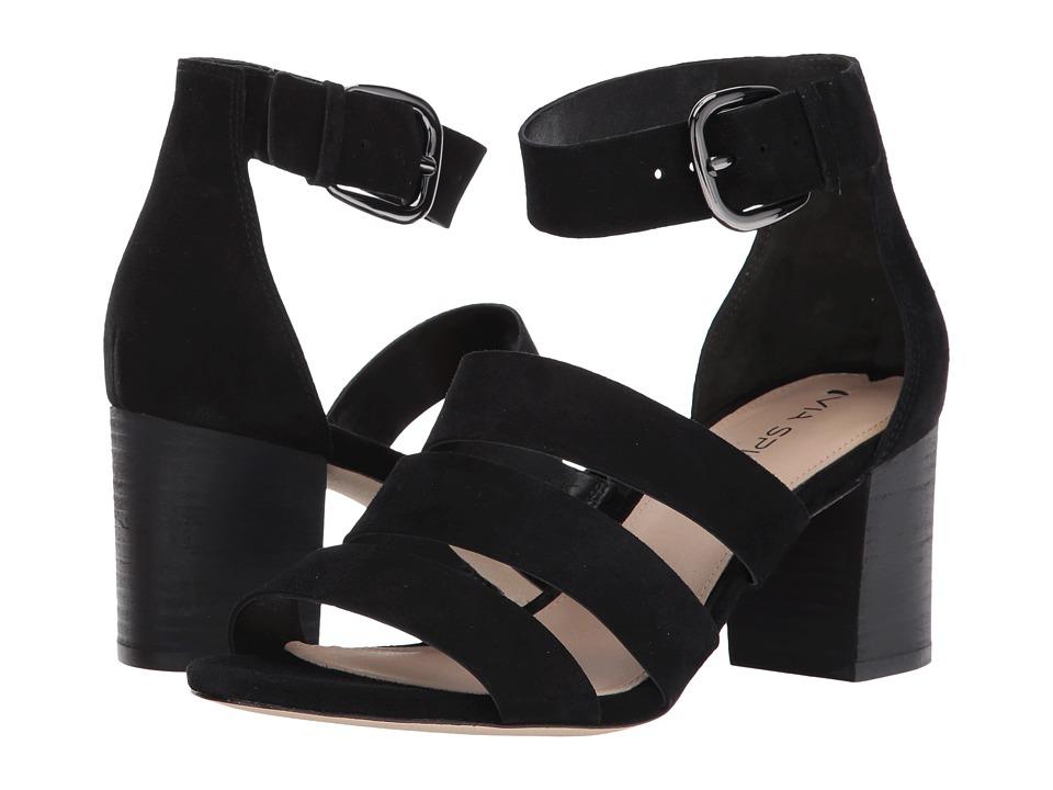 Via Spiga - Carys (Black Suede) High Heels