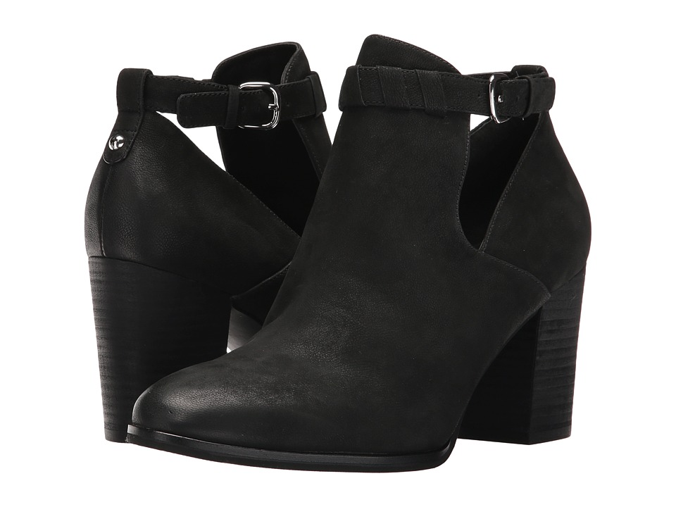 Via Spiga - Samantha (Black Nubuck) High Heels