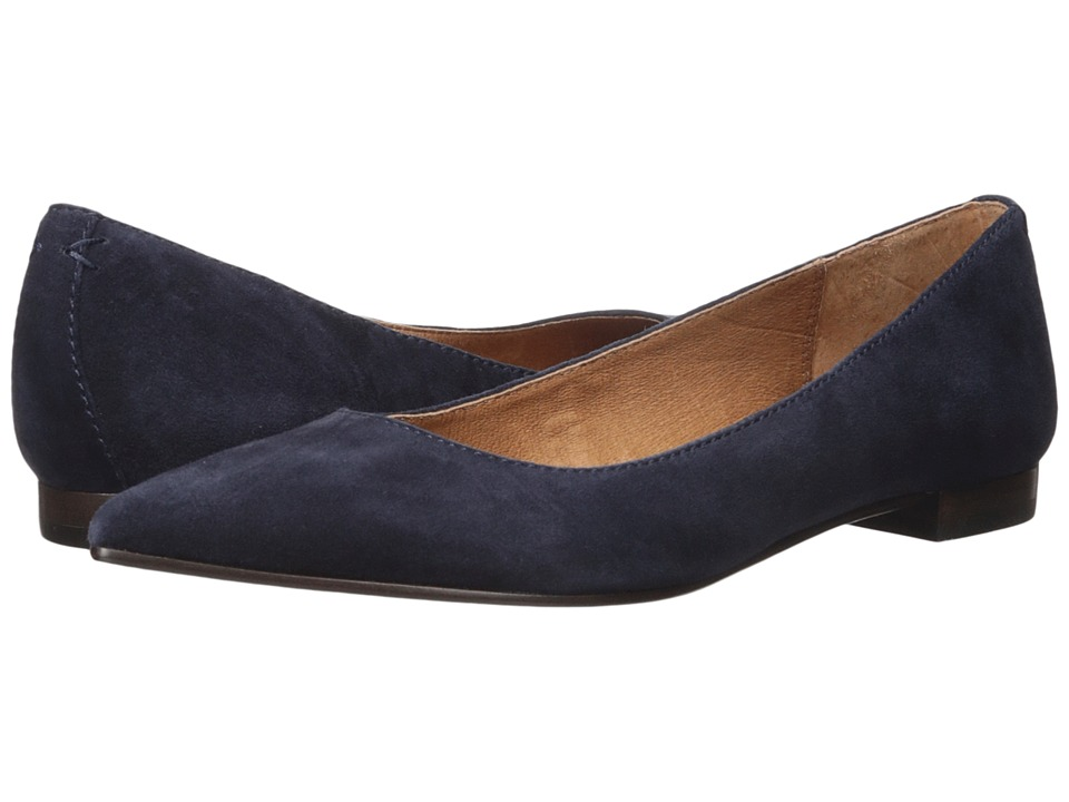 Frye Sienna Ballet Navy Womens Flat Shoes