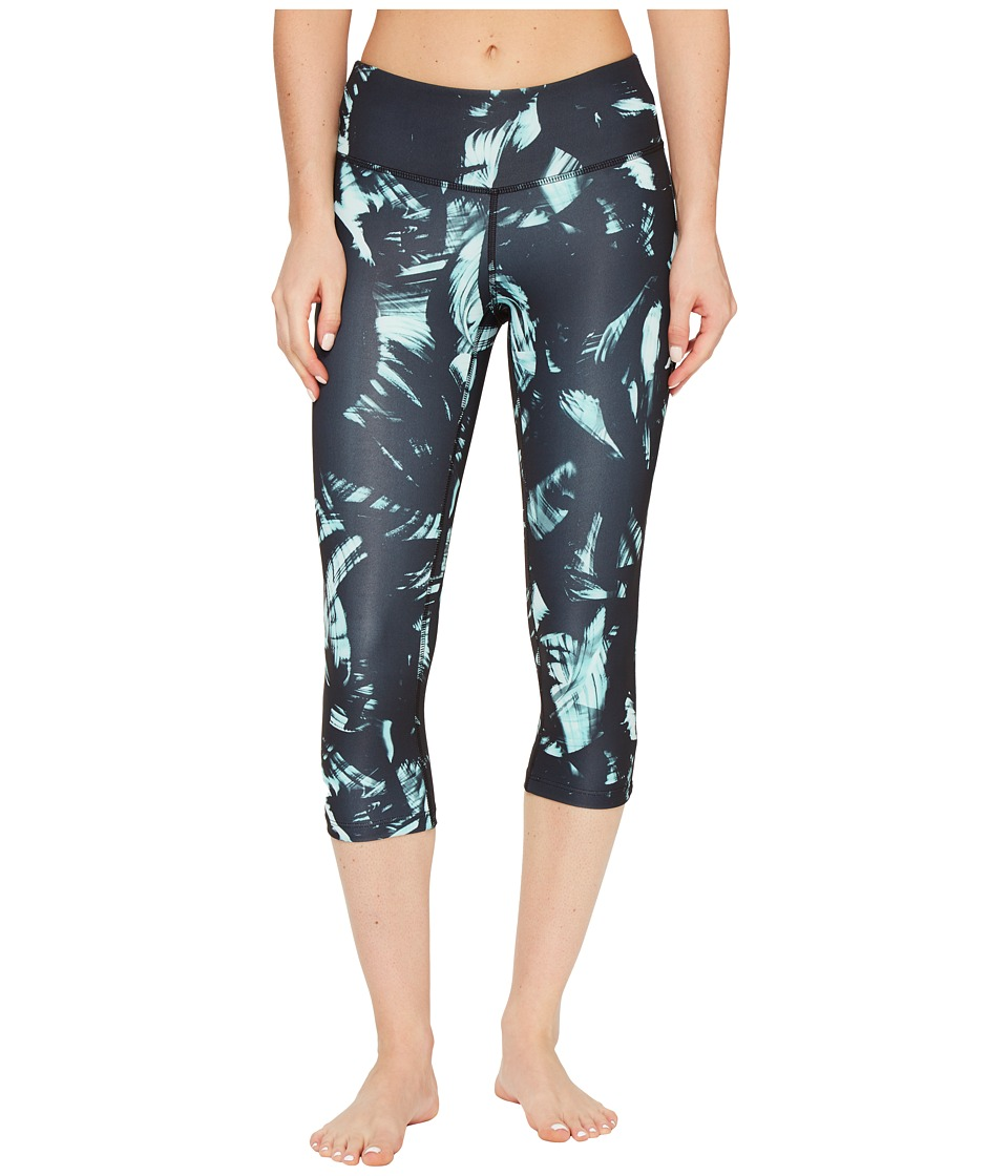 New Balance - Printed Performance Capris (Seafoam/Multi) Women's Capri