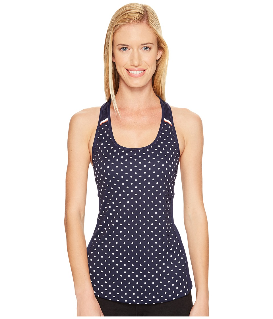 New Balance - NB Ice Tank Top (Navy Dot) Women's Sleeveless