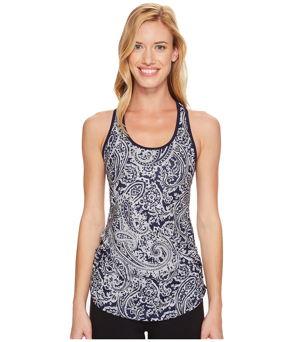 New Balance - Perfect Tank Top (Navy/Silver Paisley) Women's Sleeveless