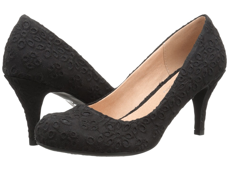 CL By Laundry - Nanette (Black Eyelet) Women's Shoes