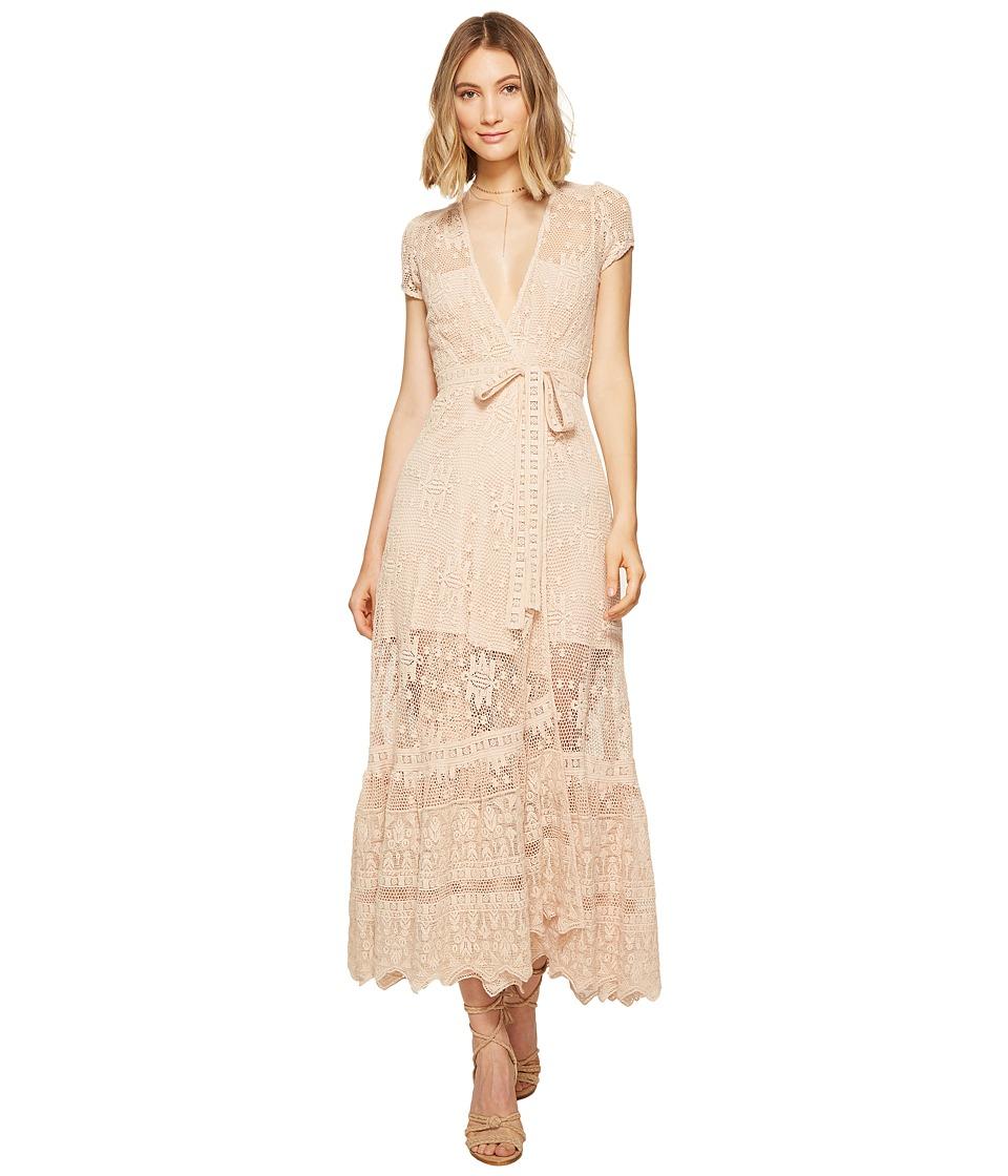 Jen's Pirate Booty - Mythology Wrap Dress (Sierra Madre Summer Quartz) Women's Dress