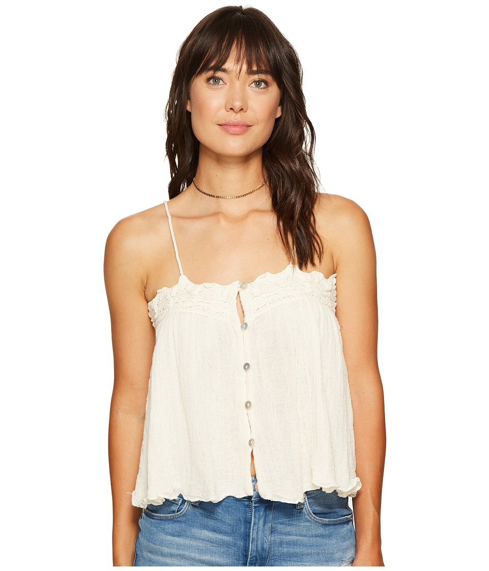 Jen's Pirate Booty - Little Sun Tank Top (Natural) Women's Sleeveless
