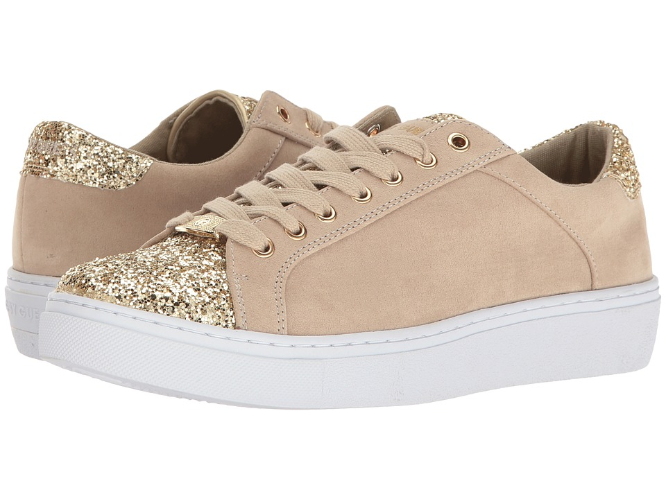 G by GUESS Rambo3 (Sandy/Light Gold Camoscio Suede) Women