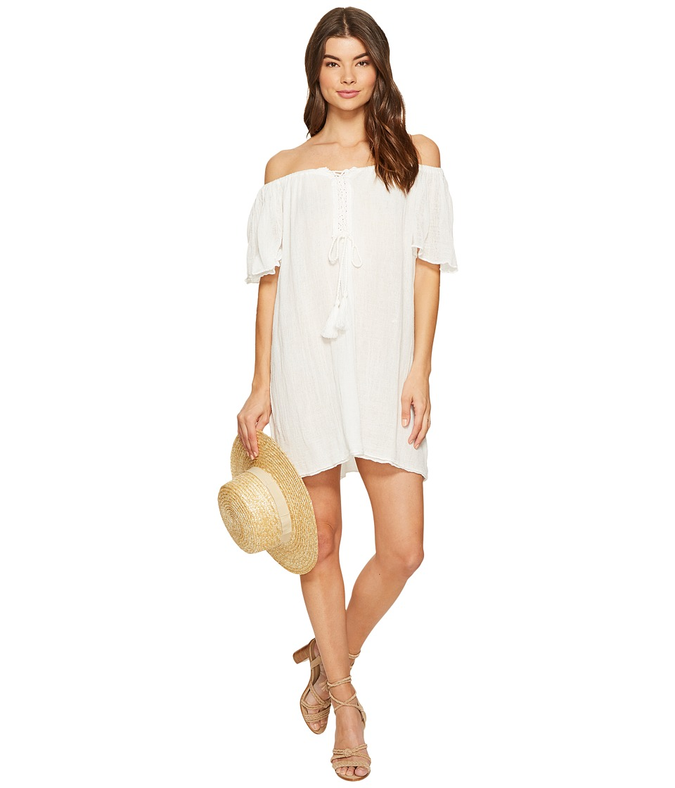 Jen's Pirate Booty - Star Fruit Mini Dress (White) Women's Dress
