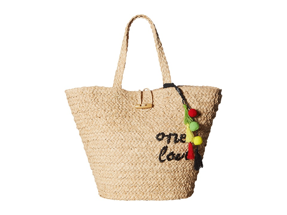 Hat Attack - Bob Marley One Love Tote (Natural) Tote Handbags